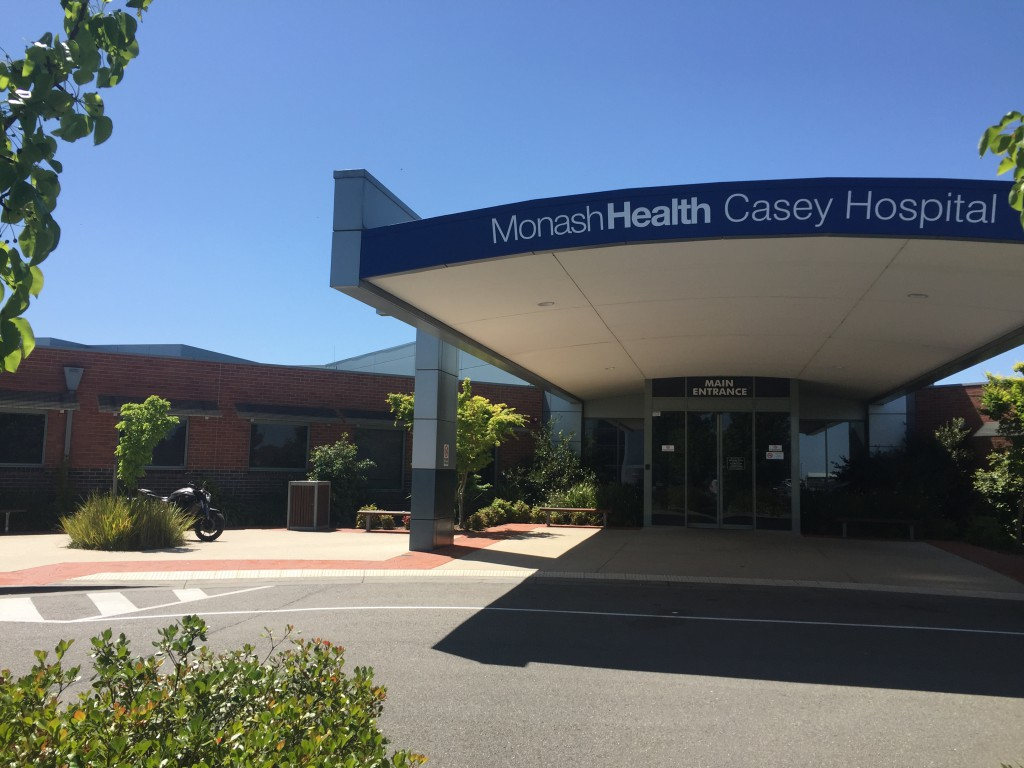 Casey Hospital Entrance View